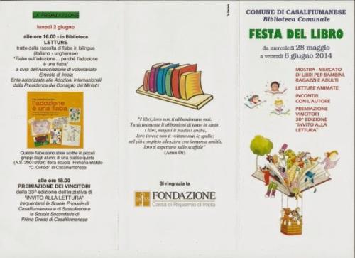 mostra del libro Casalfiumanese1